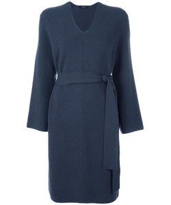 SYSTEM | V-Neck Sweater Dress Nylon/Polyurethane/Wool
