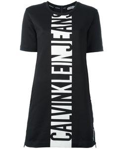 Calvin Klein Jeans | Logo Print T-Shirt Dress Xs