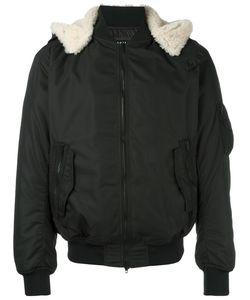Ahirain | Hooded Bomber Jacket Medium Polyester