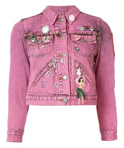Marc Jacobs | Shrunken Embellished Jacket Xs Cotton