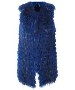 NUMEROOTTO | Long Gilet 42 Raccoon Dog