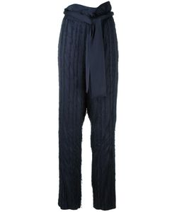 3.1 Phillip Lim | Fringed Palazzo Pants 2 Viscose/Acetate/Silk