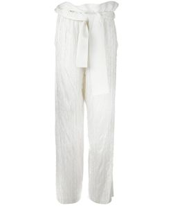 3.1 Phillip Lim | Fringed Palazzo Pants 6 Silk/Acetate/Viscose