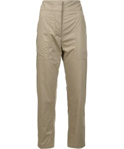 Adam Lippes | Patch Pocket Cropped Trousers 0 Cotton