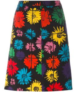 Moschino | Print Skirt 40 Acetate/Rayon/Wool/Other Fibers