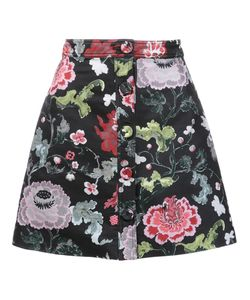 Adam Lippes | A-Line Mini Skirt 6 Polyester