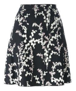 Giambattista Valli   Printed Skirt 44 Viscose/Cotton/Polyamide/Silk