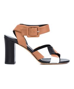 Derek Lam | Criss Cross Sandals 37.5 Nappa Leather/Leather