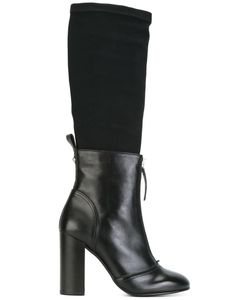 Diesel   Layered Boots 39 Calf Leather/Polyester/Rubber Y0140211763557