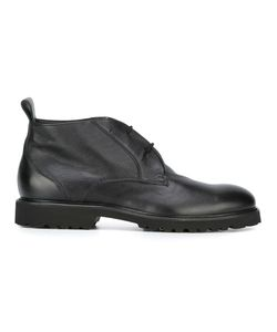 Baldinini | Chunky Sole Short Boots 41.5 Rubber/Leather