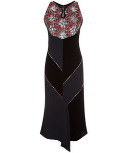 Roland Mouret | Print Dress 10 Acetate/Polyamide/Viscose/Spandex/Elastane