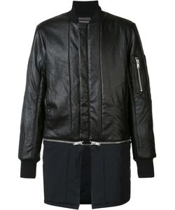 SIKI IM | Detachable Bomber Jacket Medium Nylon/Leather