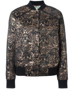 Kenzo | Eyes Jacquard Bomber Jacket Small Cotton/Polyester/Acetate/Metallized Polyester