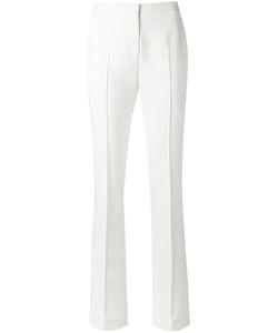 EGREY   Straight Leg Trousers 40 Viscose/Polyester/Spandex/Elastane