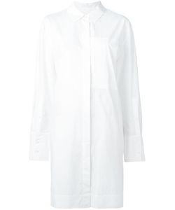 DKNY | Long Line Shirt Xs Cotton
