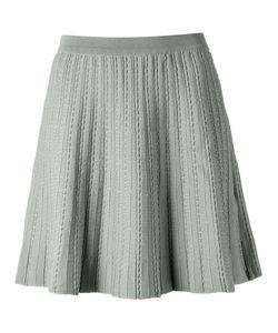 EGREY   A-Line Knit Skirt Medium Viscose/Polyamide/Spandex/Elastane