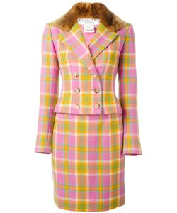 Christian Dior Vintage | Checked Skirt Suit 36