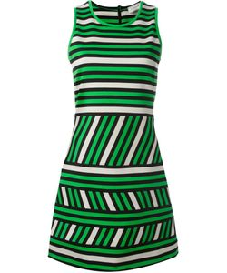 Lanvin | Striped Pattern Dress 36 Cotton/Polyamide/Spandex/Elastane