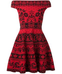 Alexander McQueen | Jacquard Mini Dress Medium Polyamide/Polyester/Spandex/Elastane/Viscose