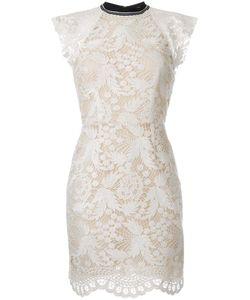 Rebecca Vallance   The Society Mini Dress 10 Nylon