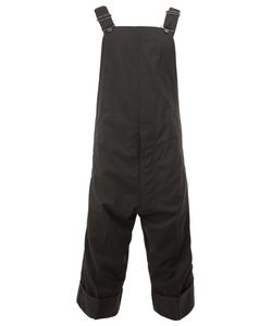 Christopher Nemeth | Cropped Overalls Large Cupro/Wool