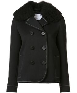 Paco Rabanne | Double Breasted Peacoat 38 Nylon/Wool