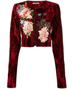 Alice Archer | Desiree Velvet Jacket 12 Acetate/Rayon/Cupro