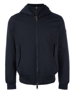 ARMANI JEANS | Hooded Jacket 50 Polyester/Cotton/Polyamide