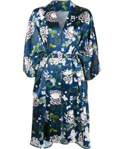 Adam Lippes | Print Kimono Jacket Xs/S Silk