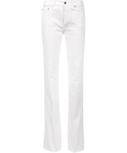Saint Laurent | Flared Leg Jeans 25 Cotton