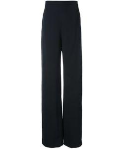Brandon Maxwell   Wide Leg Trousers 10 Spandex/Elastane/Acetate/Viscose