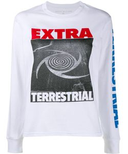ASHLEY WILLIAMS | Extra Terrestrial Sweatshirt Small Cotton