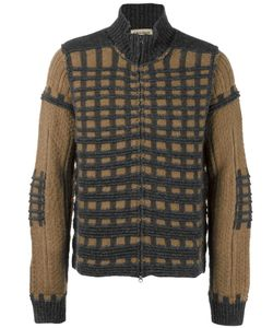 AL DUCA D'AOSTA | 1902 Check Knit Cardigan Medium