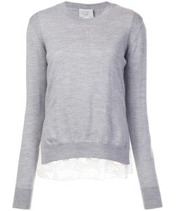 Grey Jason Wu | Crew Neck Jumper Small Merino