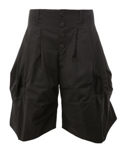 Christopher Nemeth | Pleated Detailing Shorts Polyester/Wool