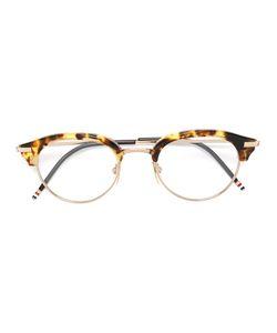 Thom Browne | Tortoiseshell Accent Round Glasses Acetate/Titanium