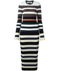 Opening Ceremony | Striped Dress Medium Cotton/Spandex/Elastane/Viscose/Lurex
