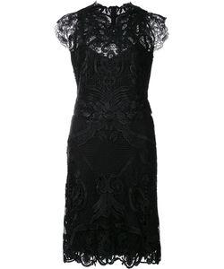 Kobi Halperin | Macramé Fitted Dress 4 Polyester