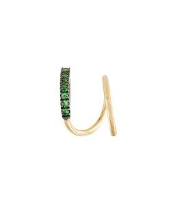 MARIA BLACK | Bela Vert Twirl Tsavorite Earring