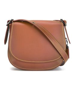 COACH | Stitching Detail Saddle Bag