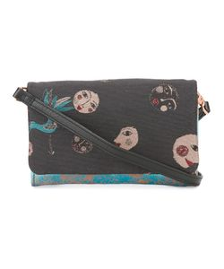 Cotélac   Contrast Pattern Crossbody Bag