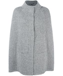 Herno | Buttoned Cape 42 Virgin Wool/Polyamide/Acetate/Polyester