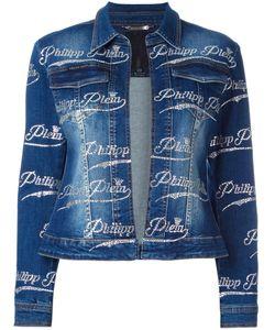 Philipp Plein | Tosia Denim Jacket Xl Cotton/Spandex/Elastane