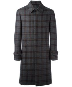HEVO | Plaid Mid Coat 48 Wool/Polyamide/Viscose