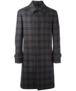 HEVO | Plaid Mid Coat 48 Wool/Polyamide/Viscose