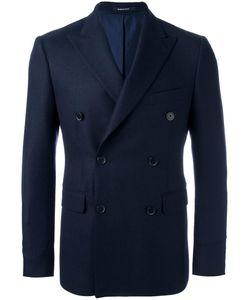 Dinner | Double-Breasted Peaked Lapels Blazer 52 Virgin Wool