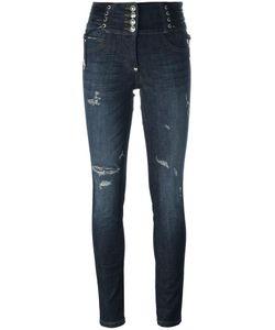Philipp Plein | Bouganvillea Skinny Jeans 25 Cotton/Spandex/Elastane