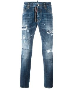Dsquared2 | Skater Destroyed Jeans 46 Cotton/Spandex/Elastane