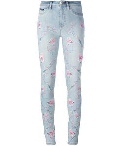 Philipp Plein | Phataria Skinny Jeans 25 Cotton/Spandex/Elastane