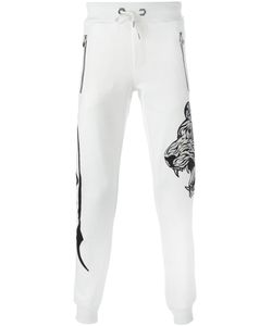 Philipp Plein | So Caution Track Pants Small Polyester/Polyurethane/Cotton